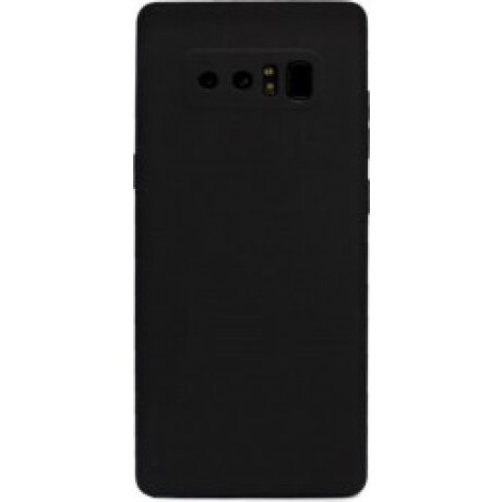 Husa Silicon Slim Pentru Samsung Galaxy Note 8 Negru Mat