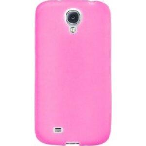 Husa Silicon Slim Pentru Samsung Galaxy S4 Roz Mat