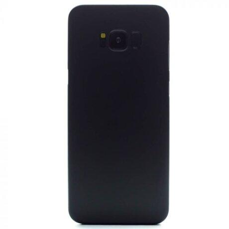 Husa Silicon Slim Pentru Samsung Galaxy S8 Plus Negru Mat