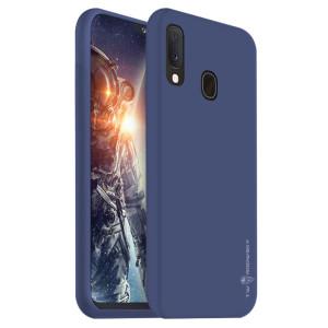 Husa Silicon Slim Samsung Galaxy A10/M10, Albastru Mat