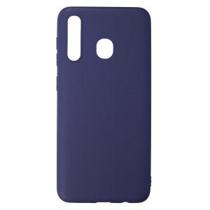 Husa Silicon Slim Samsung Galaxy A30, Albastru Mat