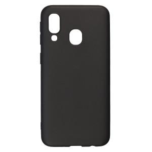 Husa Silicon Slim Samsung Galaxy A40, Negru Mat