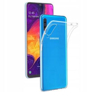 Husa Silicon Slim Samsung Galaxy A50, Transparent
