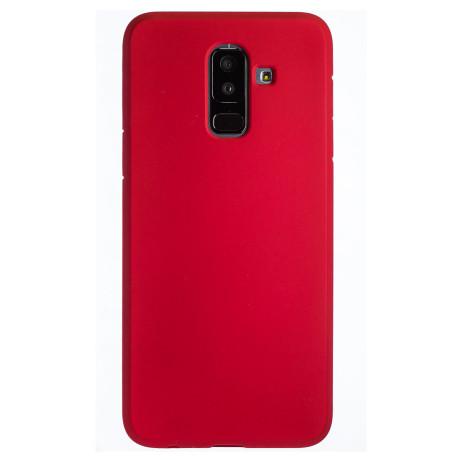 Husa Silicon Slim Samsung Galaxy A6 Plus 2018, Rosu