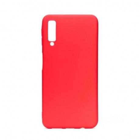 Husa Silicon Slim Samsung Galaxy A70, Rosu Mat