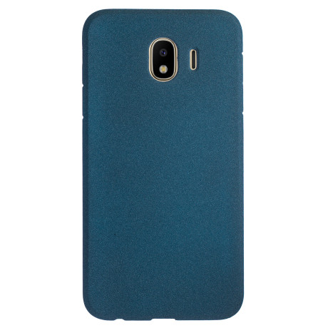 Husa Silicon Slim Samsung Galaxy J4 2018, Albastru Sand