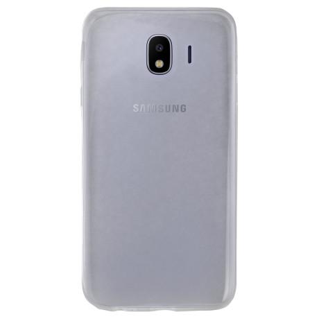 Husa silicon slim Samsung Galaxy J4 2018 Contakt Transparenta