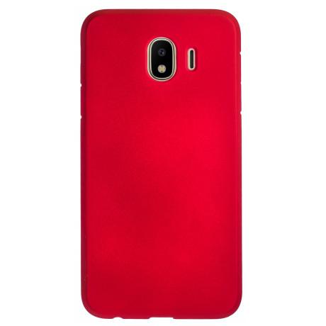 Husa Silicon Slim Samsung Galaxy J4 2018, Rosu