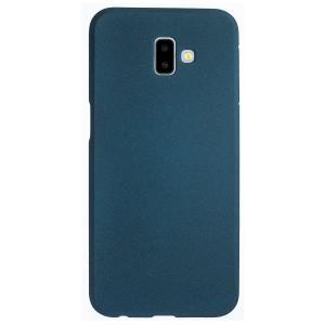 Husa Silicon Slim Samsung Galaxy J6 Plus, Albastru Sand