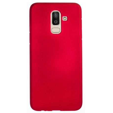 Husa Silicon Slim Samsung Galaxy J8 2018, Rosu
