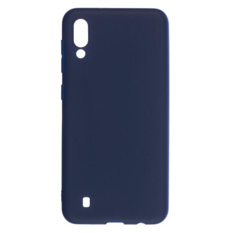 Husa Silicon Slim Samsung Galaxy M10, Albastru Mat