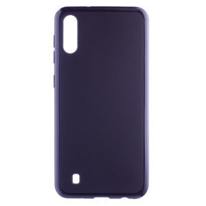Husa Silicon Slim Samsung Galaxy M10, Negru Mat