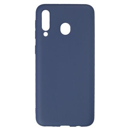 Husa Silicon Slim Samsung Galaxy M30, Albastru Mat