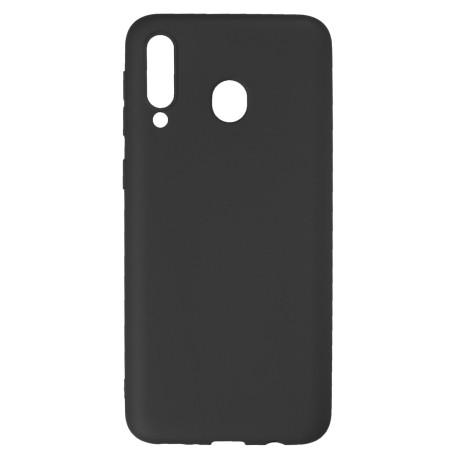 Husa Silicon Slim Samsung Galaxy M30, Negru Mat