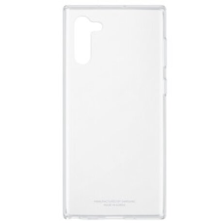 Husa Silicon Slim Samsung Galaxy Note 10 Transparent
