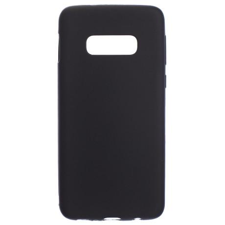 Husa Silicon Slim Samsung Galaxy S10 E , Negru Mat
