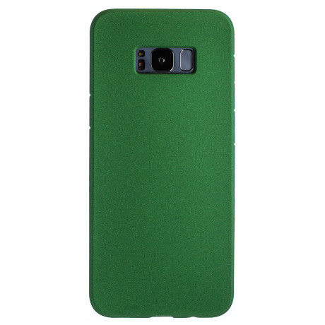 Husa Silicon Slim Samsung Galaxy S8 Plus, Verde Sand