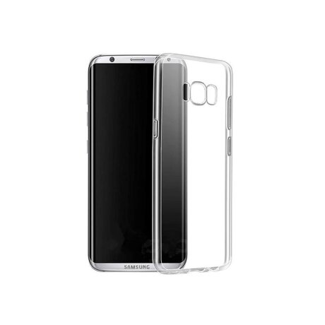 Husa silicon slim Samsung Galaxy S8 Transparent