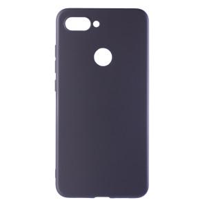 Husa Silicon Xiaomi Mi 8 Lite, Negru Mat