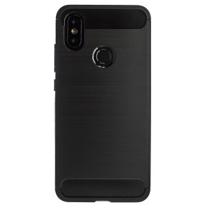 Husa Silicon Xiaomi MI A2, Negru Carbon
