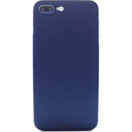 Husa Slim pentru iPhone 7 Plus/8 Plus Albastru Mat