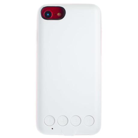Husa Spate cu luminite, iPhone 6/6s/ 7 Alba