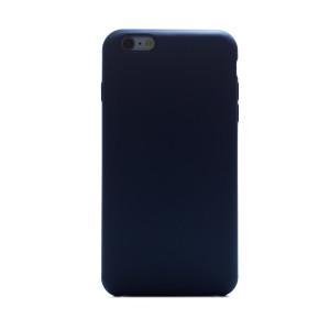 Husa spate + folie sticla iPhone 6 Plus Fun Albastru