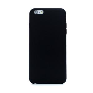 Husa spate + folie sticla iPhone 6 Plus, Fun Neagra