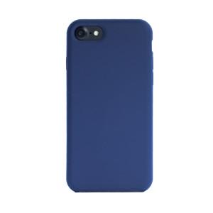 Husa spate + folie sticla iPhone 7/8/SE 2, Fun Albastra