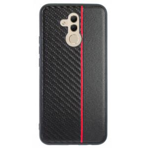 Husa Spate Huawei Mate 20 Lite, Red Stripe