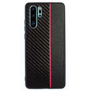 Husa Spate Huawei P30 Pro, Red Stripe