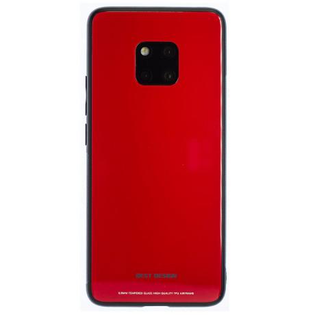 Husa Spate Oglinda Huawei Mate 20 Pro, Rosu