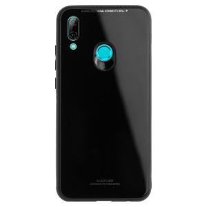 Husa Spate Oglinda Huawei P Smart 2019, Neagra
