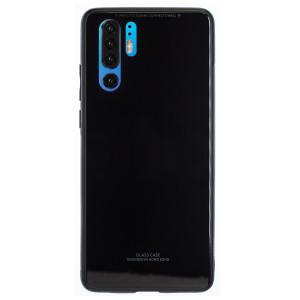 Husa Spate Oglinda Huawei P30 Pro, Negru