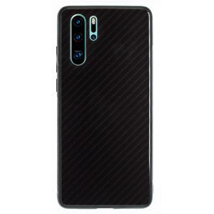 Husa Spate Oglinda Huawei P30 Pro, Negru Caro