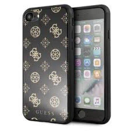 Husa Spate Oglinda iPhone XR, Guess Negru