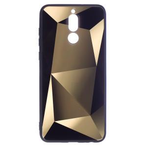Husa Spate Oglinda Prism Huawei Mate 10 Lite, Auriu
