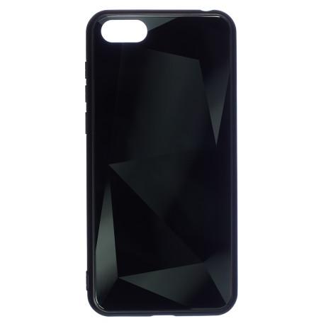 Husa Spate Oglinda Prism Huawei Y5 Prime 2018, Negru