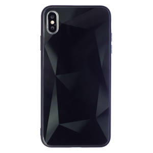 Husa Spate Oglinda Prism iPhone XS MAX, Negru