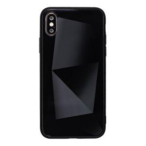 Husa Spate Oglinda Prism iPhone X/XS, Negru