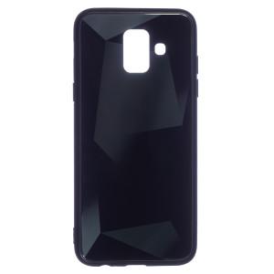 Husa Spate Oglinda Prism Samsung Galaxy A6 2018, Negru