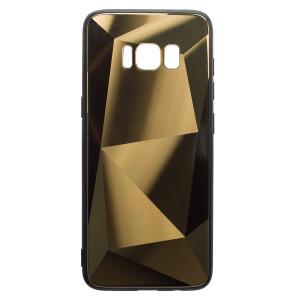 Husa Spate Oglinda Prism Samsung Galaxy S8, Auriu