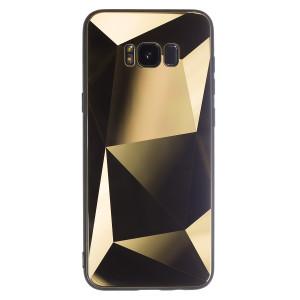 Husa Spate Oglinda Prism Samsung Galaxy S8 Plus, Auriu