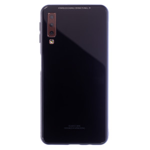 Husa Spate Oglinda Samsung Galaxy A7 2018, Negru