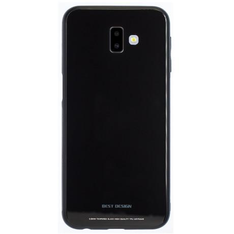 Husa Spate Oglinda Samsung Galaxy J6 Plus 2018, Negru