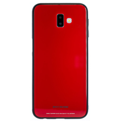 Husa Spate Oglinda Samsung Galaxy J6 Plus 2018, Rosu