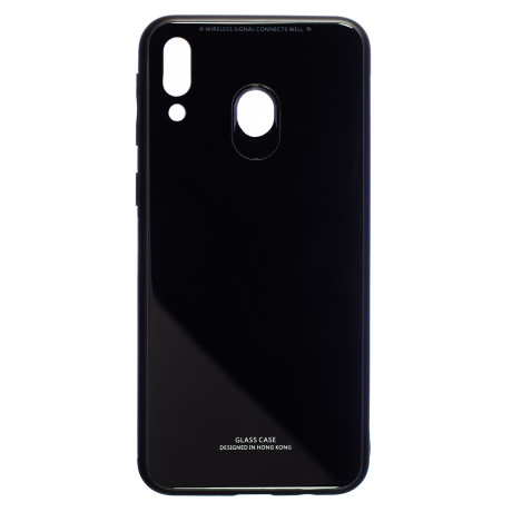 Husa Spate Oglinda Samsung Galaxy M20, Negru