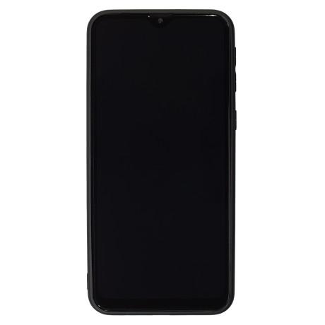 Husa Spate Oglinda Samsung Galaxy M20, Rama Indigo