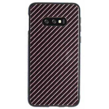 Husa Spate Oglinda Samsung Galaxy S10 E, Dark Grey