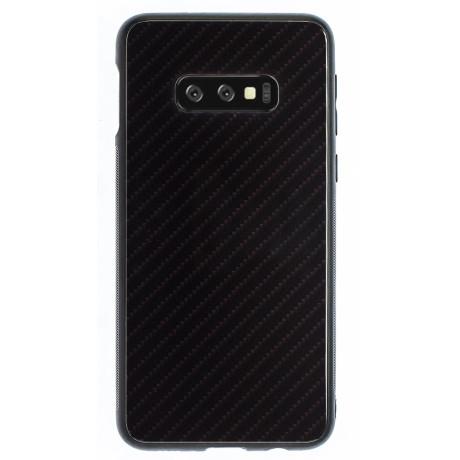 Husa Spate Oglinda Samsung Galaxy S10 E, Negru